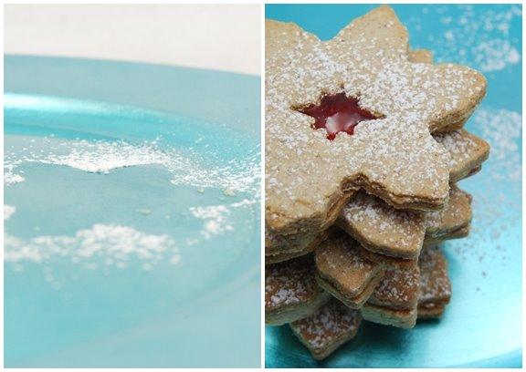 Linzer Sablé Cookies
