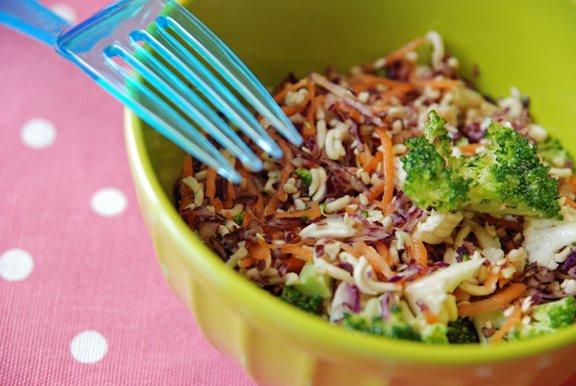 Ramen Ichiban Cabbage Salad