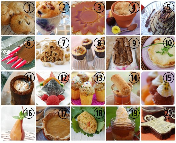 20 creative ways with food
