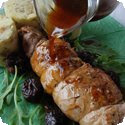 Longe de Porc aux Pruneaux (Roast Pork Loin with Prunes)