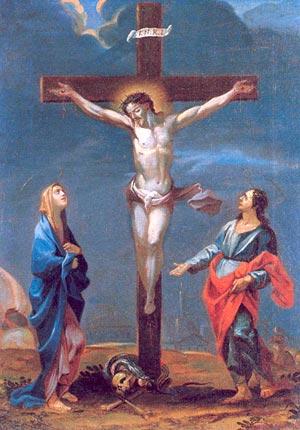Mujer he aquí a tu hijo; Juan he ahí tu madre (Juan 19:26-27).