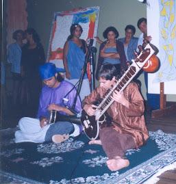 O músico Dhaivat Raj