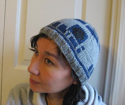 Beat Knitting R2d2 Beanie