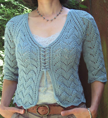 Beat Knitting: Kelso Lace Cardigan Pattern