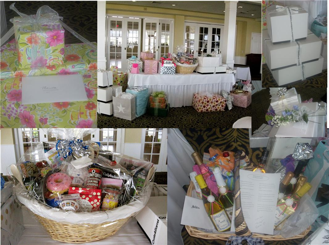 Wedding Shower Gift Basket Themes : baskets , lists for different themed baskets .... Bridal shower wine ...