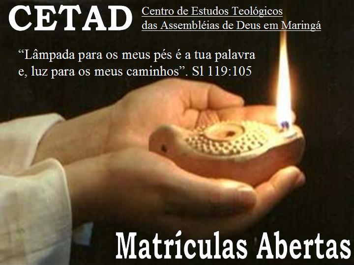 CETAD - CURSO DE TEOLOGIA
