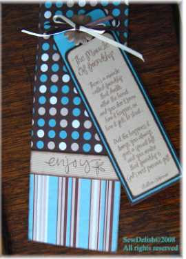 Crafts Beautiful Bookmark Swap Lazy Trout