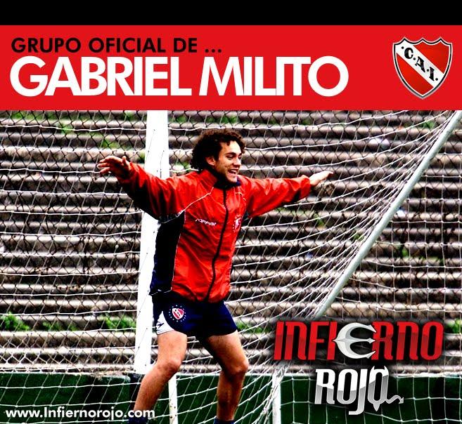 Gabriel Milito el post que se merece