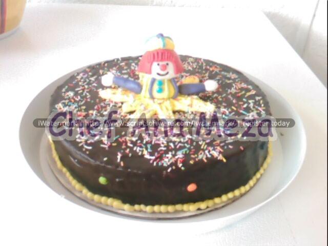 pastel payaso
