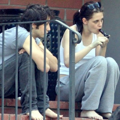 Robert Patttinson was spotted at Soho in Hollywood . He was with Kristen and