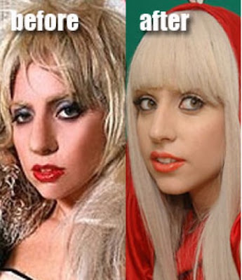 lady gaga no makeup and no wig. pictures lady gaga no makeup