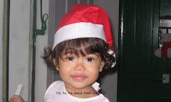 Maria Fernanda, a Bebê-noel.Hohohoho