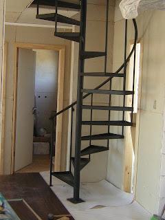 Escaleras de caracol escalera simple - Escaleras semi caracol ...