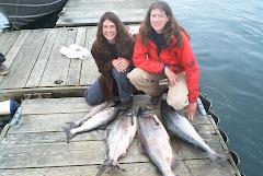 Kalin, me & Naknek River salmon