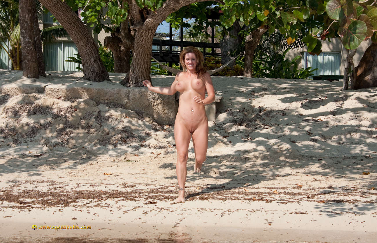 Hedonism nude beach at sex resort