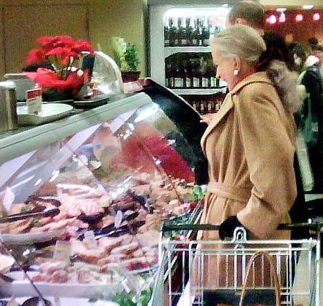 A Washington Woman Shopping at Whole Foods
