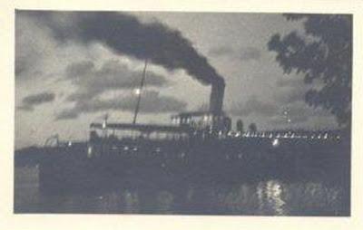 1930'lu yıllarda Boğaz Vapuru
