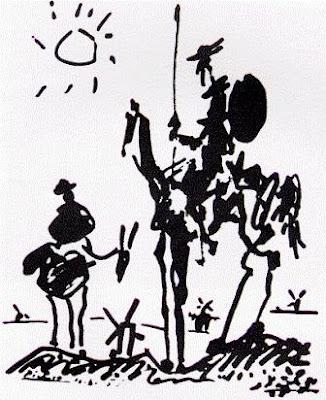 Picasso'nun Don Kişot'u