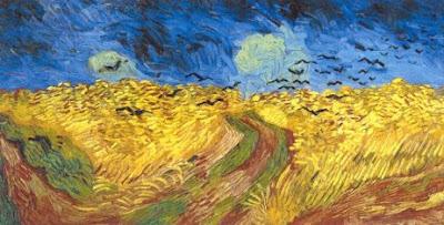 Van Gogh'un son tablosu ??? Kargalarla Buğday Tarlası