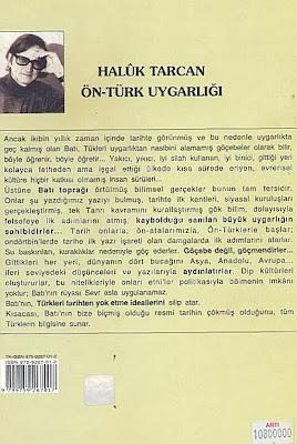 ÖN-TÜRK TARİHİ - ARKA KAPAK