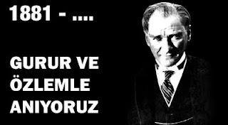 GAZİ MUSTAFA KEMAL ATATÜRK 1881 - ...