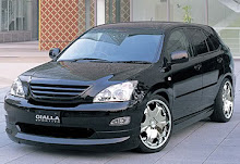 Toyota Harrier Gialla Body kit