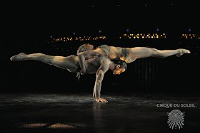 Só tem picadeiro neste Cirque du Soleil
