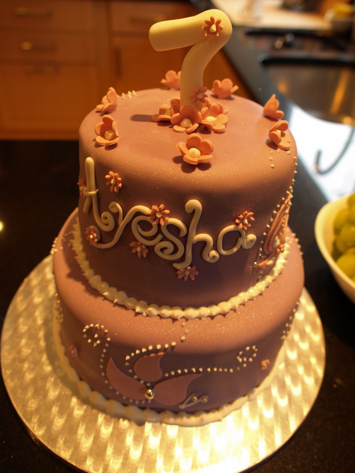 Birthday Cake Pics With Name Ayesha : CakeMasters UK: Ayesha s birthday cake
