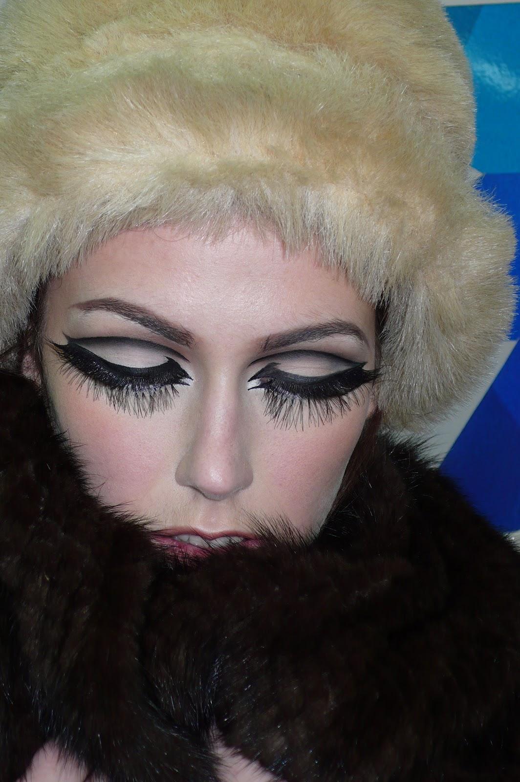 Ma vie en beaut maquillage ann es 60 inspiration polly - Maquillage annee 60 ...