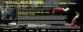 Jean Detheux - Festival du Nouveau Cinéma - 2009