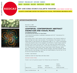 Lichtspiel: Contemporary Abstract Animation and Visual Music