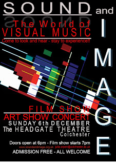 Sound and Image Event - Colchester, UK