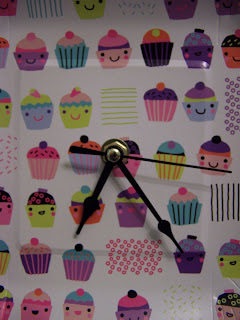 Cupcake Clock