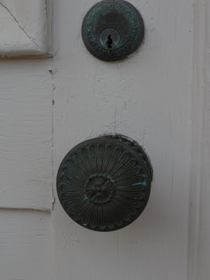 Door Knocker and Knob.