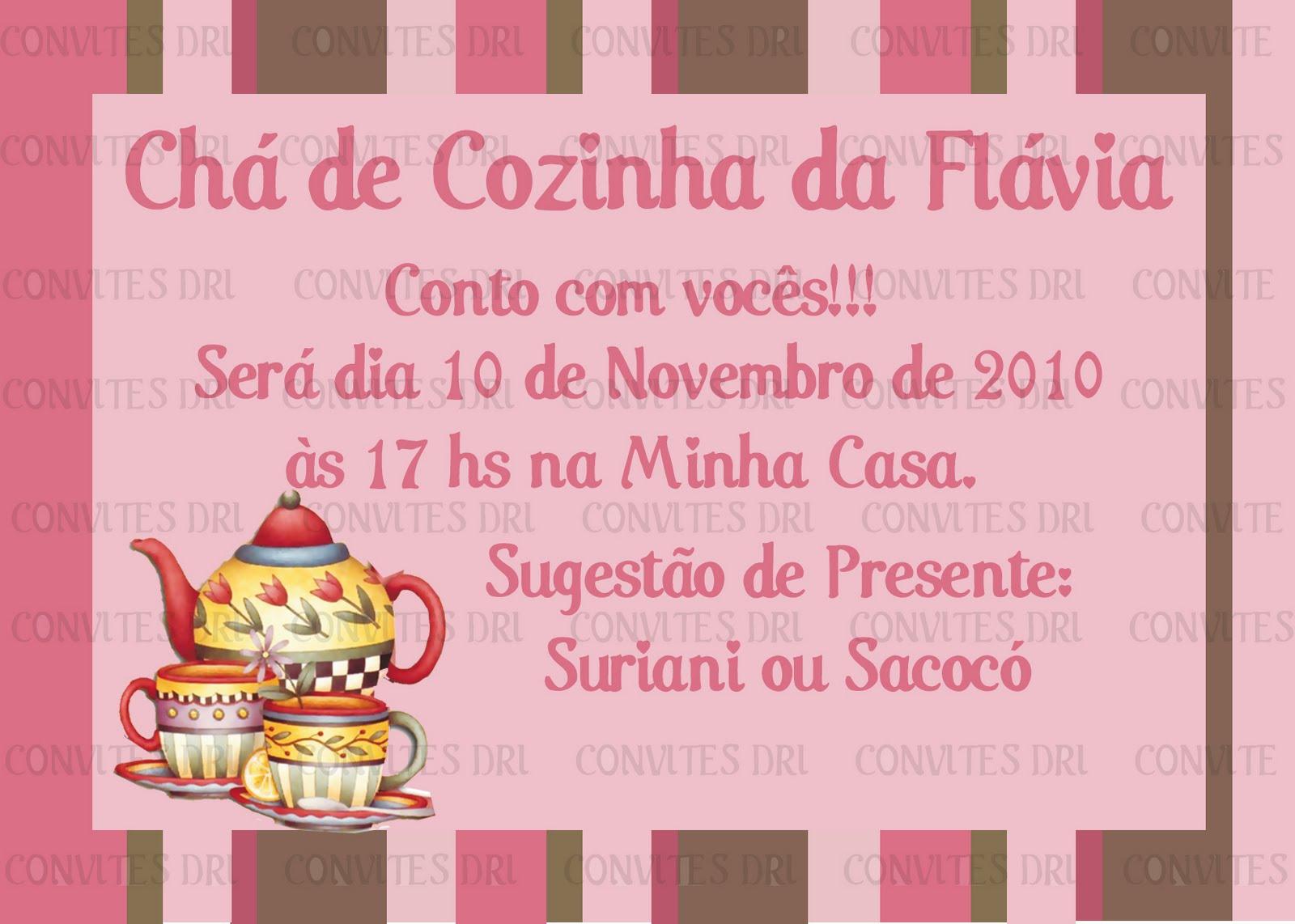 Modelos Convite Cha Cozinha HD Walls Find Wallpapers #AA8522 1600 1142