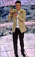 Marco Carta winner of Sanremo 2009