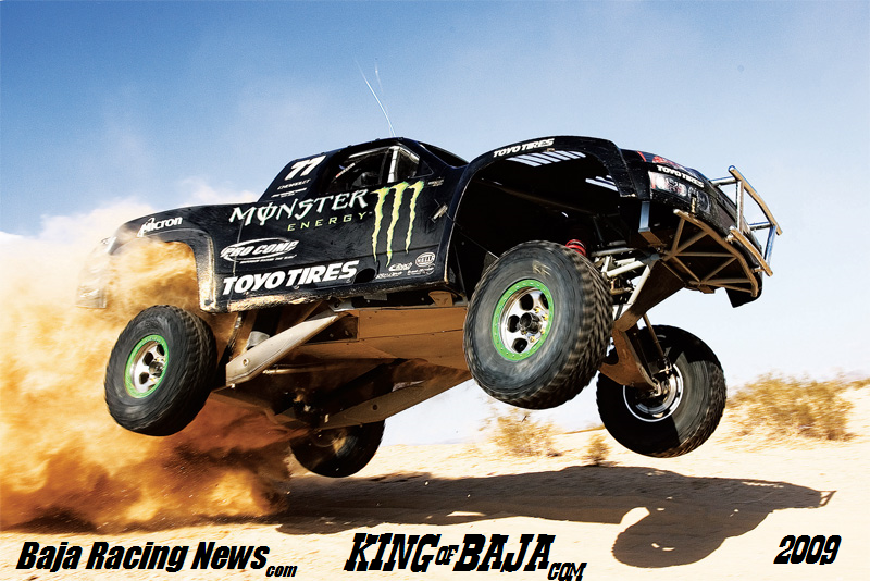 Robby Gordon Named KING OF BAJA 2009 by Baja Racing News LIVE! UPDATED