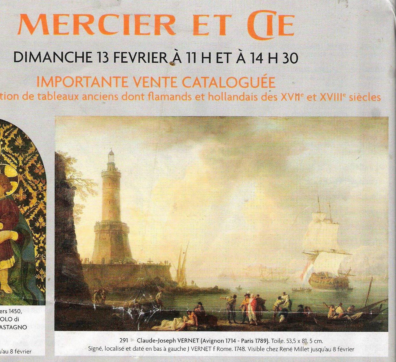 historic marine france vente de toiles de vernet claude joseph avignon 1714 paris 1789. Black Bedroom Furniture Sets. Home Design Ideas
