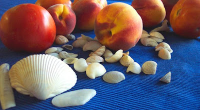 Divasofthedirt, peaches & seashells
