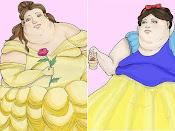 Excesso de peso não combina com Princesas