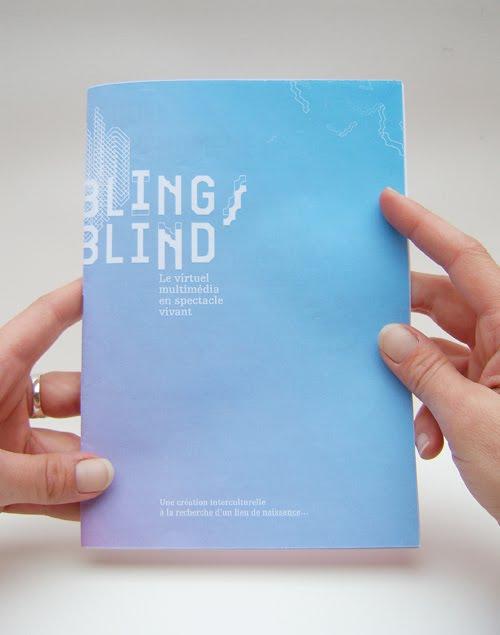 Livret 16 pages de présentation du projet bling/blind