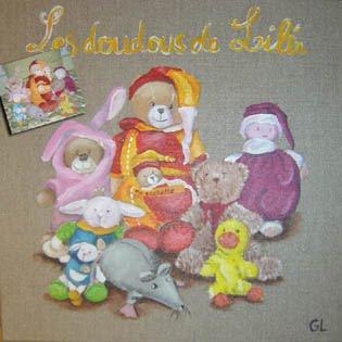 Les doudous de Lili