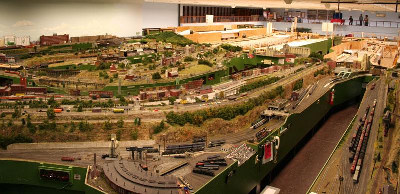 Miniatur contoh diorama miniature kereta api - Foto lay outs buitenterras ...