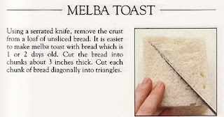 Melba Toast