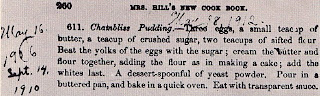Chambliss Pudding Recipe