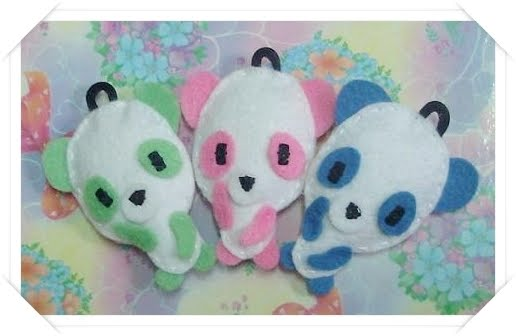So Cute. Broches y complementos: Bichitos Kawaii!