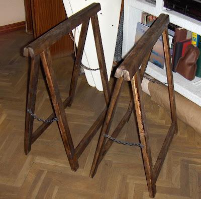 El blindado personal una mesa cutre 1 camuflando - Caballetes para mesa ...