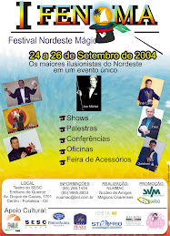 CARTAZ DO FENOMA 2004