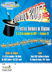 CARTAZ DO FENOMA 2007