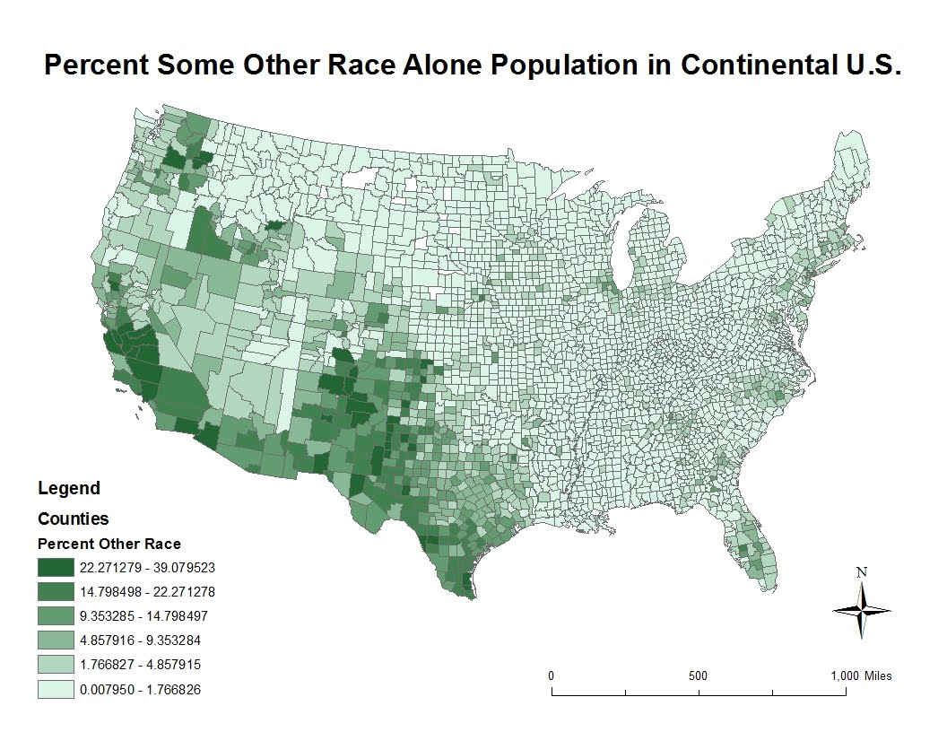 the map also reveals a large population in a texan county again there are a few scattered counties with no asians in states like nevada texas